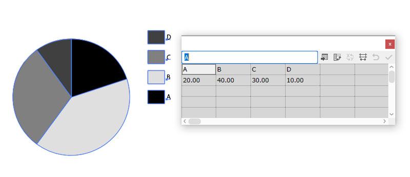 円グラフ(データ入力)